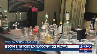 Jacksonville police searching for burglars who ate snacks, made cocktails, ransacked local homes