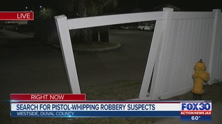 Men pistol-whipped, robbed on same day in possibly connect cases