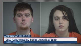 Child found wandering in the street in Yulee, parents arrested