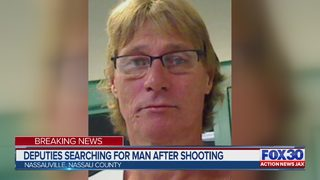 Nassau County deputies searching for man after shooting