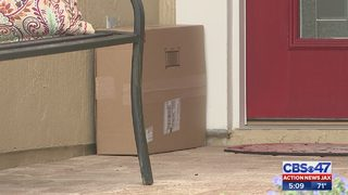 Protecting packages from porch pirates
