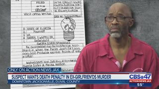 Jacksonville man accused of setting his ex-girlfriend on fire writes a letter from jail