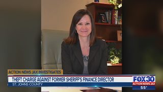 Theft charge against former St. Johns County Sheriff