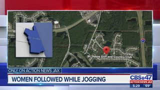 Women followed while jogging in St. Johns Golf & County Club