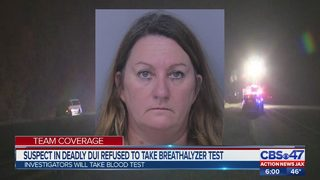 Suspect in deadly DUI crash refused to take breathalyzer test