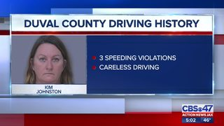 Woman facing charges in deadly DUI crash bonds out of St. Johns County jail