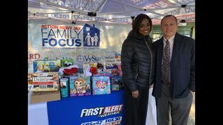 Holiday Toy Drive: Action News Jax Family Focus collected over 1,148 toys!