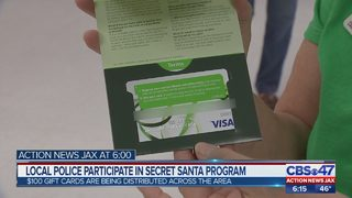 Local police participate in Secret Santa program
