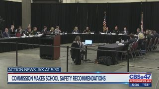 Commission makes school safety recommendations