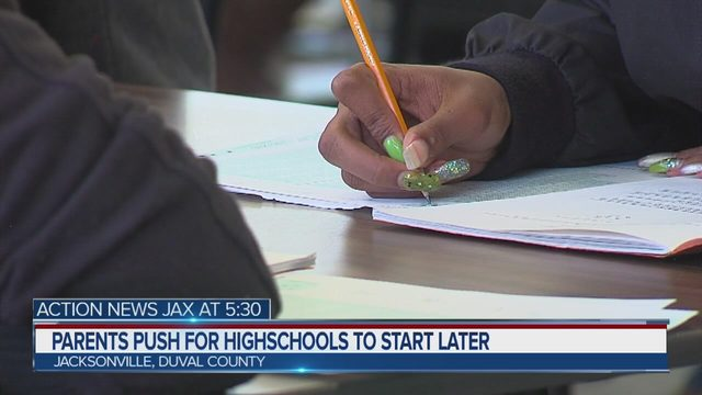 Jacksonville Area Parents Push For Delayed School Times