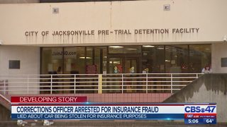Corrections Officer arrested for insurance fraud