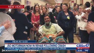 JSO motorman now in rehab following crash