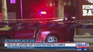 One killed, another hurt in shooting near FSCJ campus