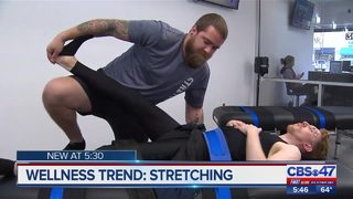 Wellness trend: stretching