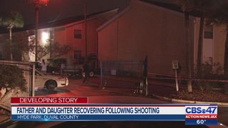 Father and daughter recovering following shooting