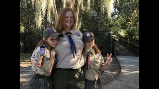 Jacksonville ushers in its first all-girl troop to local Boy Scouts of America