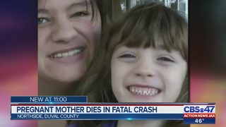 Jacksonville mom killed in crash was expecting her second child, family says