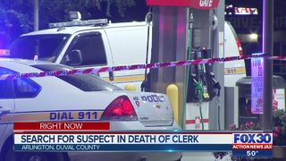 Friends mourn loss of Arlington store clerk, JSO searching for suspect