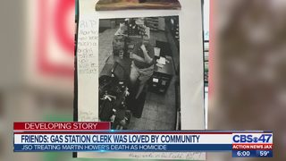 Gas station clerk was loved by the community