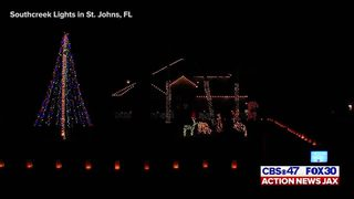 JACKSONVILLE CHRISTMAS LIGHTS: Southcreek Lights in St. Johns, FL