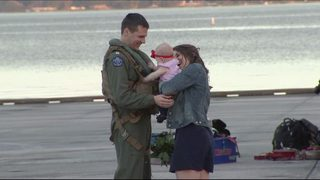 Jacksonville Navy sailors reunited with families just in time for holidays