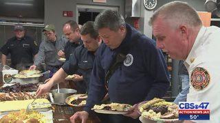 Feeding firefighters