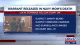 Warrant released for suspect arrested in slain Naval Chief Petty Officer slaying