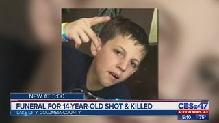 Family, friends say final goodbyes to 14-year-old boy shot, killed by 11-year-old