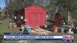 Local farm burglarized twice in days