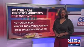 Foster care director arrested made not guilty plea