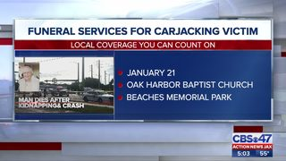 Funeral services for carjacking victim