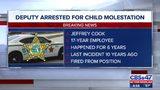 St. Johns County Deputy arrested for child molestation