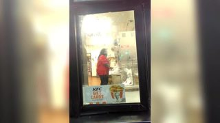 Jacksonville man claims KFC worker hit him in the face with box of chicken