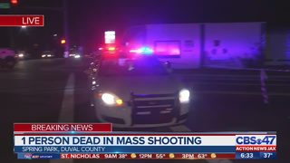 1 dead after mass shooting in Jacksonville