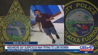 Putnam County deputies warn public about man targeting women in Palatka