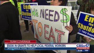 City of Jacksonville stepping up to help furloughed workers