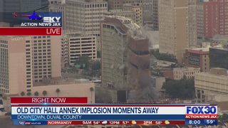 Video: Implosion of Jacksonville old City Hall Annex