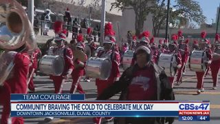 Thousands of Jacksonville families honor Martin Luther King Jr. at parade