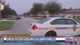 JSO increasing employee overtime to fight crime