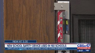 New school safety device used in 160 schools