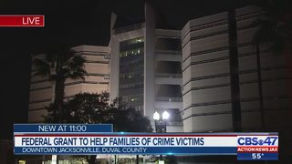 Federal grant to help families of crime victims