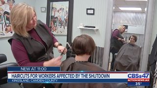 Local military wife giving free haircuts to Coast Guard families as shutdown continues