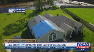 Local roofer gives up license after dozens of accusations