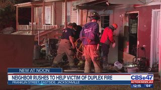 Two people without a home after early morning fire on Jacksonville