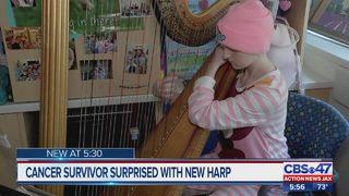 Jacksonville teenage cancer survivor receives surprise gift