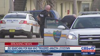 JSO search for man who triggered Amazon lockdown