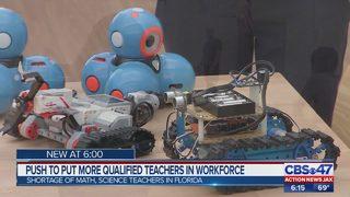 Jacksonville educators working to address critical teacher shortage