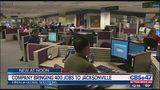 Company bringing 400 jobs to Jacksonville