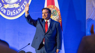 Florida Gov. Ron DeSantis says migrant influx is something