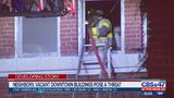 Vagrancy found at abandoned downtown Jacksonville building after morning fire